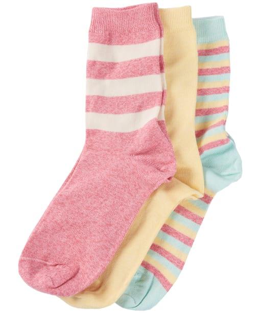 Women's Barbour Coastal Stripe Sock Set - Mixed