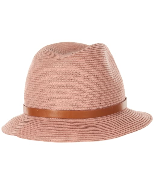 Women's Barbour Heathfield Trilby Hat - Dusty Pink