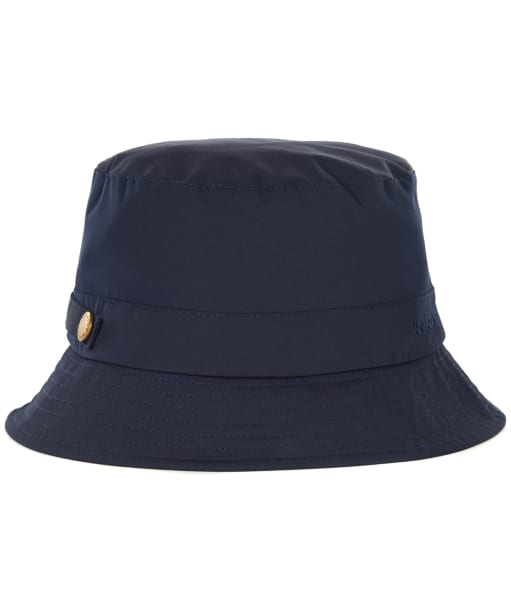 Women's Barbour Coastal Waterproof Sports Hat - Navy