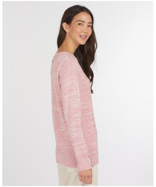 Women's Barbour Sailboat Knit Sweater - Sherbet