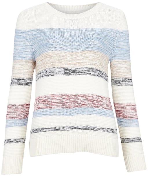 Women's Barbour Littlehampton Knit Sweater - New Off White