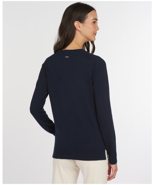 Women's Barbour Housesteads Knit Sweater - Navy