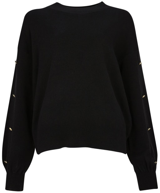 Women's Barbour International Drifting Knit - Black