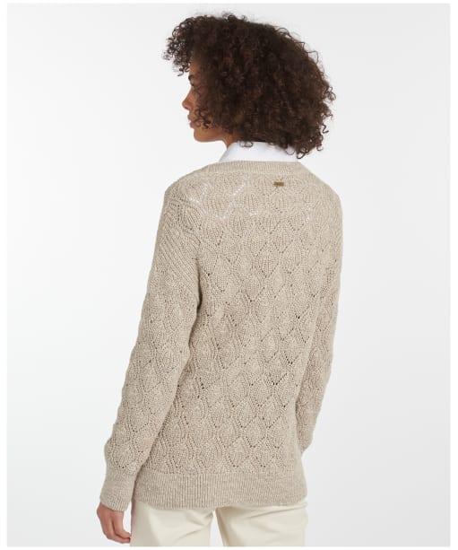 Women's Barbour Newbury Knit - Summer Pearl