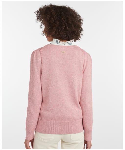 Women's Barbour Bowland Knit - Dusty Rose