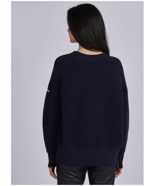 Women's Barbour International Delta Knit - Dark Navy
