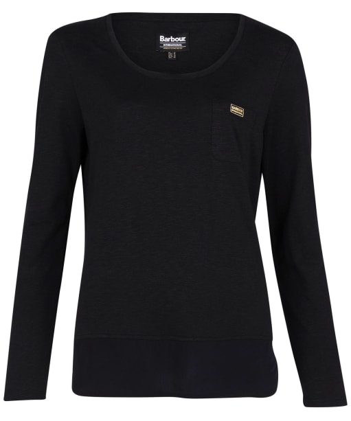 Women's Barbour International Pace Top - Black