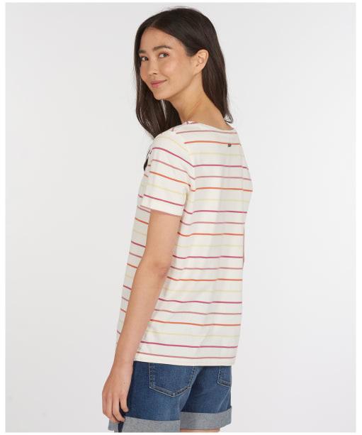 Women's Barbour S/S Bradley Top - Multi Stripe
