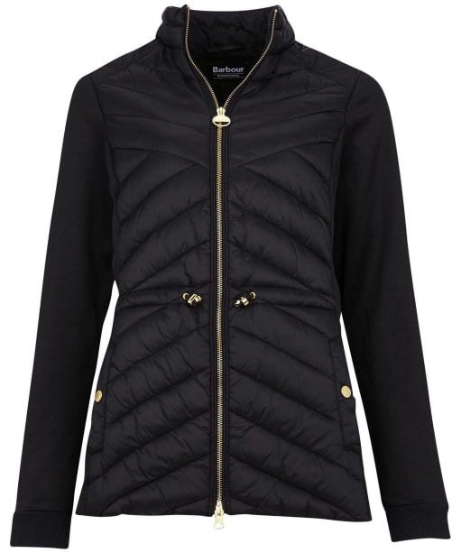Women's Barbour International Understeer Sweater - Black
