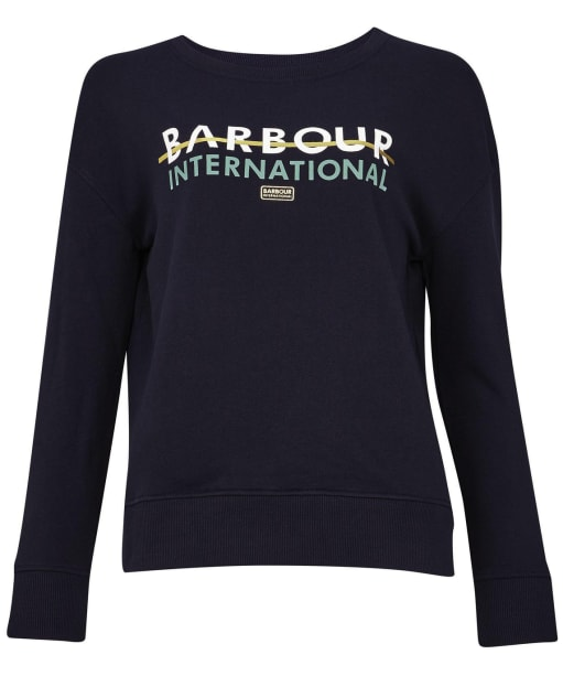 Women's Barbour International Delta Overlayer - Navy