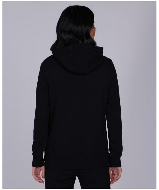 Women's Barbour International Grid Overlayer - Black