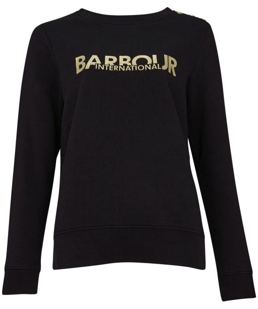 Women's Barbour International Cage Overlayer - Black