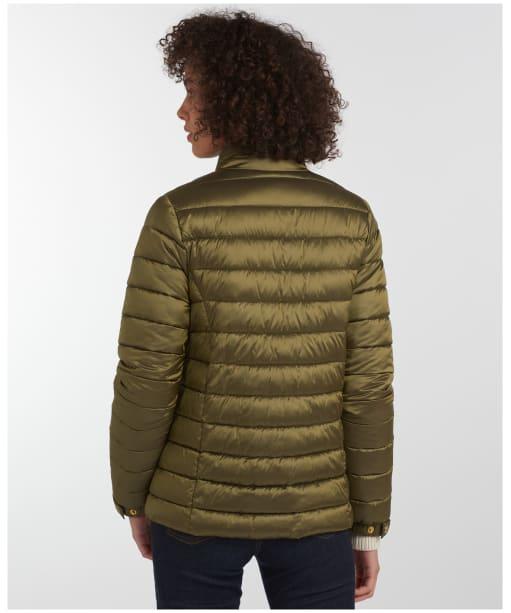 Women's Barbour Grange Quilted Jacket - Olive