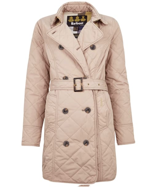 Women's Barbour Fairsfield Quilted Jacket - Light Trench