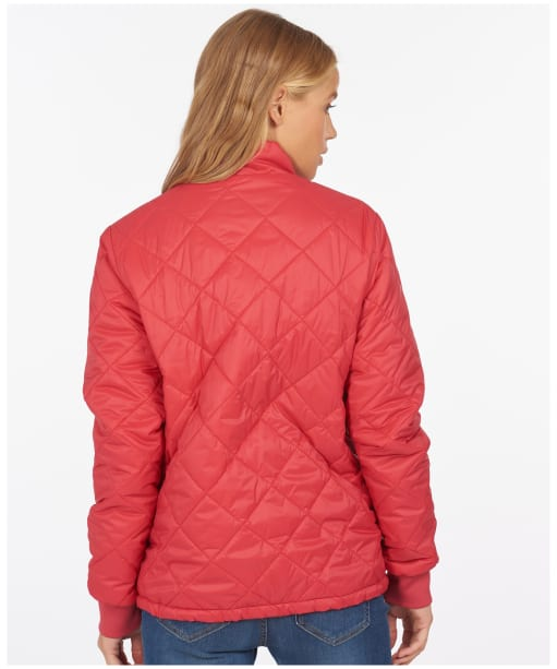 Women's Barbour Southport Quilted Jacket - Ocean Red
