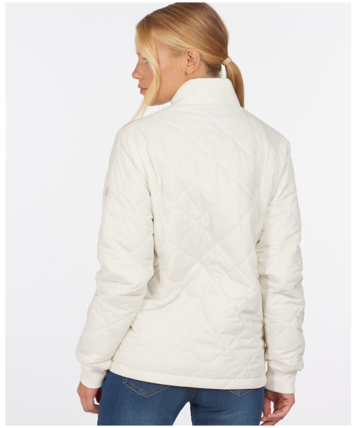 Women's Barbour Southport Quilted Jacket - Cloud