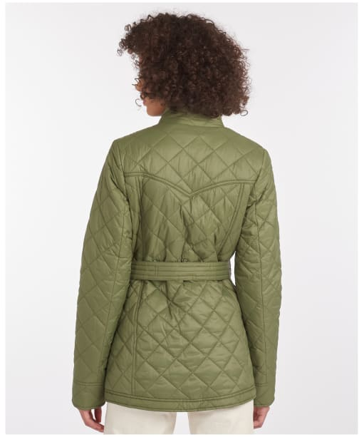 Women's Barbour Bowland Quilted Jacket - Bayleaf