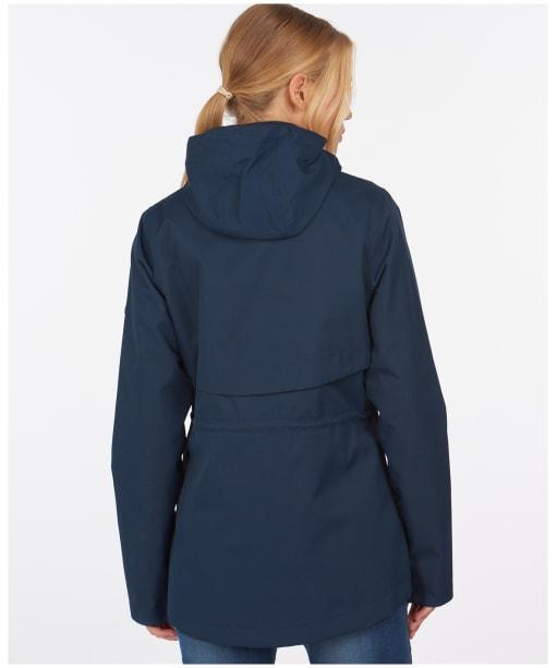 Women's Barbour Promenade Waterproof Jacket - Navy