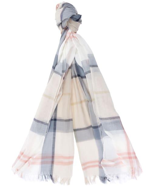 Women's Barbour Summer Dress Wrap - MIST TARTAN