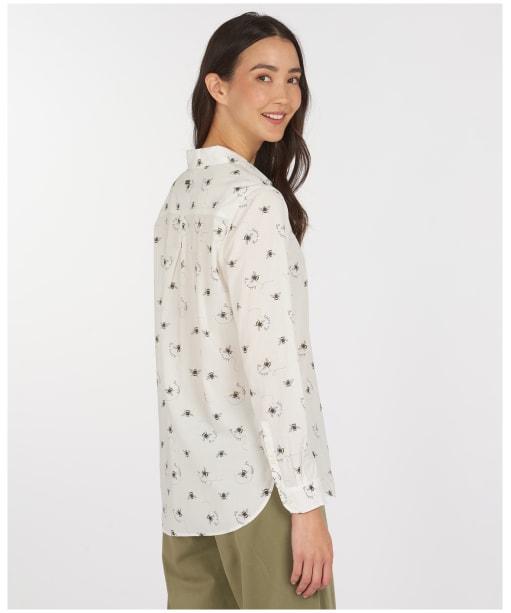 Women's Barbour Safari Shirt - Country Bee Print