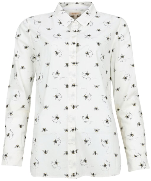 Women's Barbour Safari Shirt - Country Bee Print