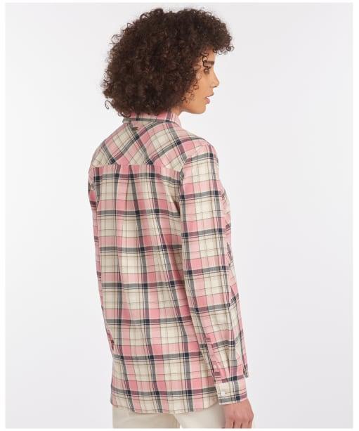 Women's Barbour Newbury Shirt - Dusty Rose Check