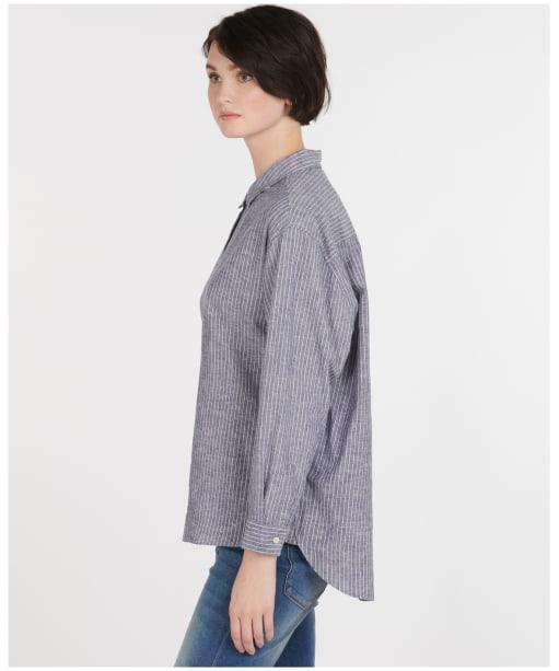 Alexandra Shirt - Blue / White