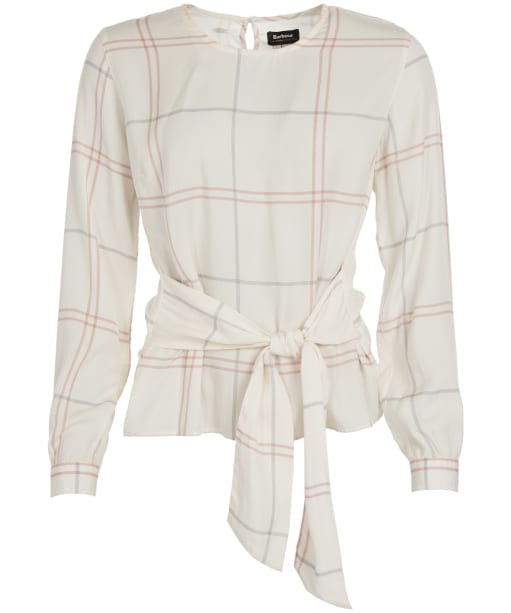 Women's Barbour Balmory Top - Mist Tartan