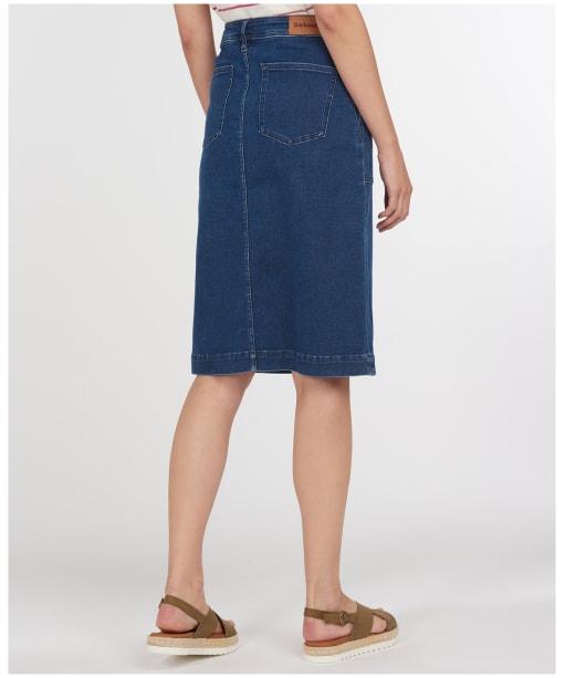 Women's Barbour Cabin Skirt - Mid Wash
