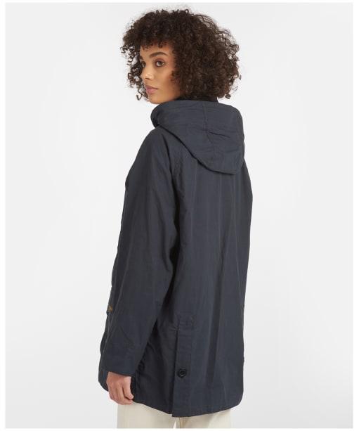 Women's Barbour Delevingne Showerproof Jacket - Navy