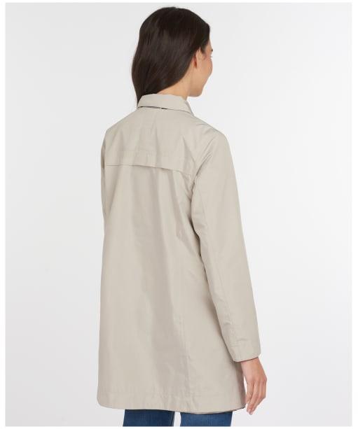 Women's Barbour x Sam Heughan Babbity Waterproof Jacket - MIST/DRESS