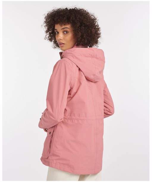 Women's Barbour Clyde Jacket - Dusty Rose