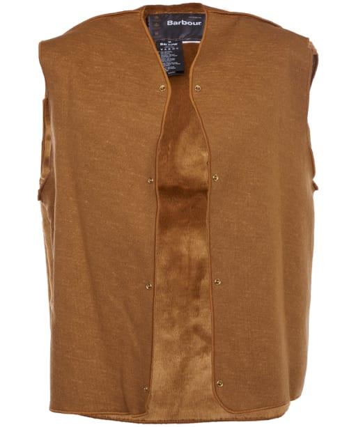 Men's Barbour Warm Pile Snap-in Lining - Brown