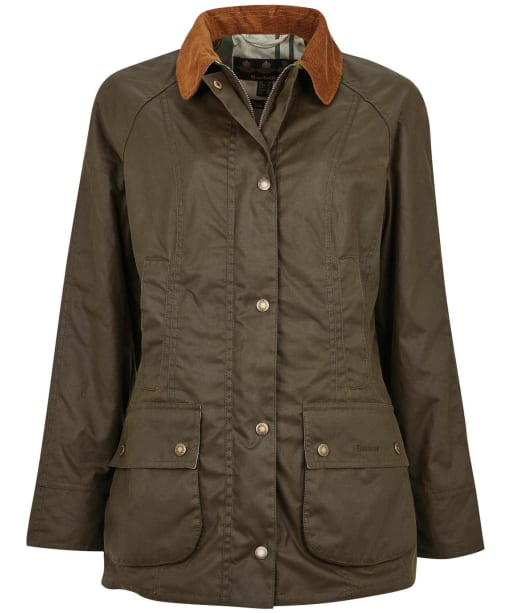 Women's Barbour Aintree Wax Jacket - Archive Olive