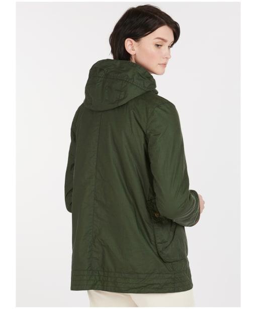 Victoria Wax Jacket - Duffle Green