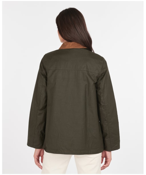 Christie Wax Jacket - Archive Olive