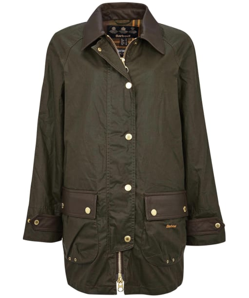 Winslet Wax Jacket - Archive Olive