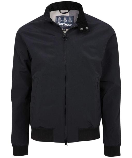 Men's Barbour Royston Casual Jacket - Black