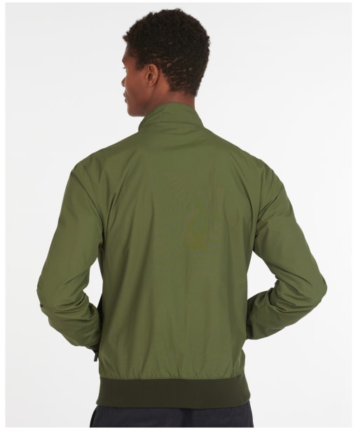 Men's Barbour Royston Casual Jacket - Olive