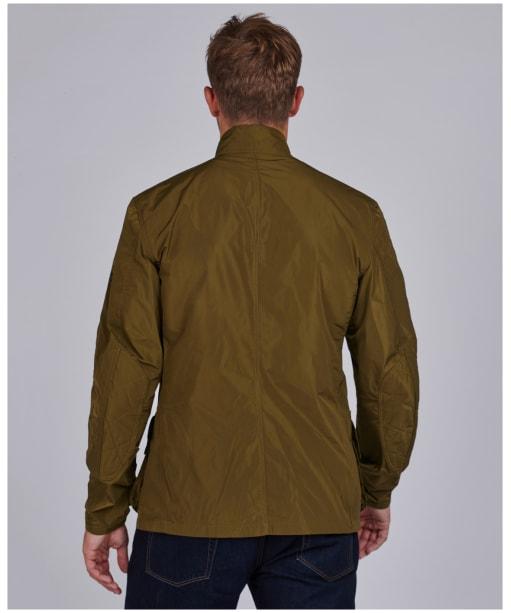 Men's Barbour International Weir Casual Jacket - LIGHT SAGE
