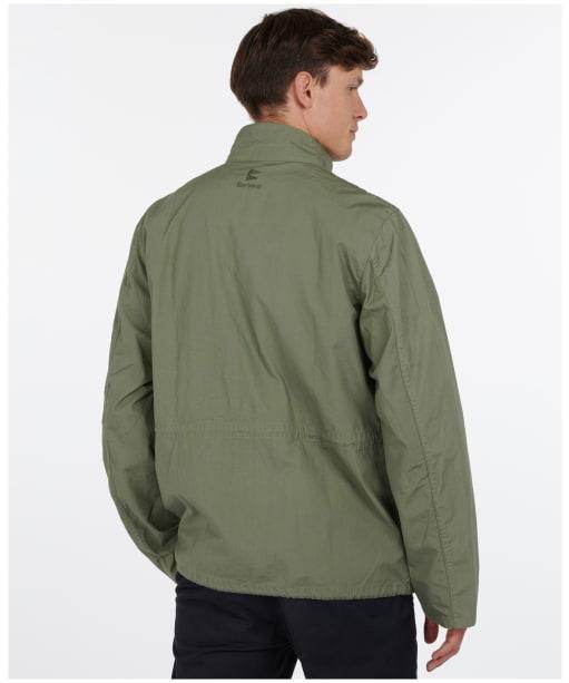Men's Barbour Flyn Casual Jacket - Light Moss