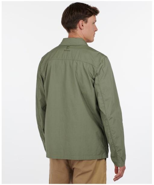 Men's Barbour Toyer Casual Jacket - Light Moss