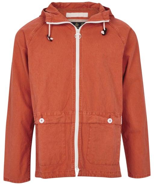 Men's Barbour Bennet Casual Jacket - Terracotta
