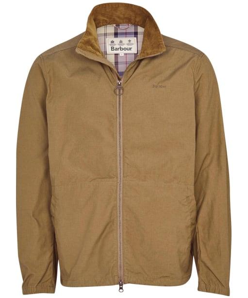 Men's Barbour Burden Casual Jacket - Stone