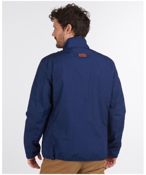 Men's Barbour Burden Casual Jacket - Navy