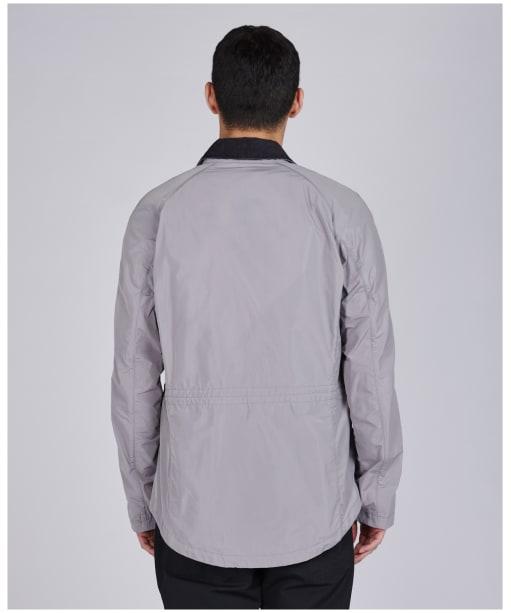 Men's Barbour International Sandwell Casual Jacket - Chrome