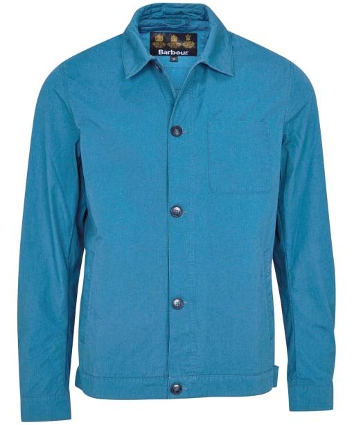 Men's Barbour Pinzel Casual Jacket - Blue Steel