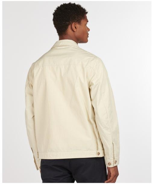 Men's Barbour Pinzel Casual Jacket - Chalk