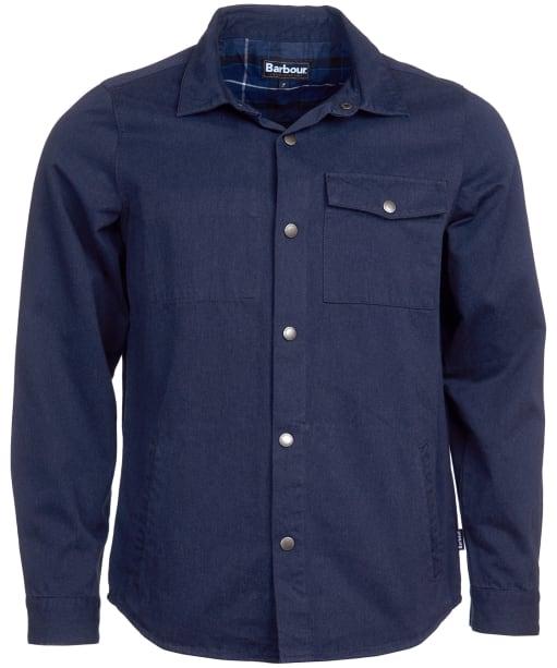 Men's Barbour Mortan Overshirt - Inky Blue