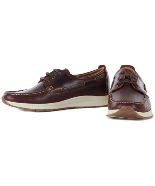 Men's Barbour Cook Boat Shoes - Brown